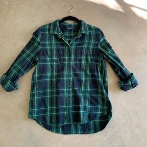 Madewell flannel shirt Medium